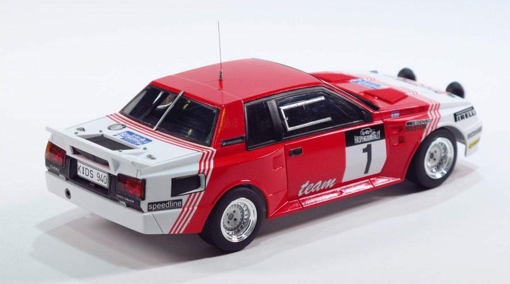 トヨタ セリカ TA64 '85 ハスペンゴウラリー仕様プラモデル(BEEMAX1/24 カーモデルNo.022)商品画像_4