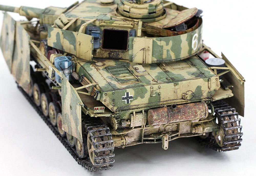 ドイツ 4号戦車 G型 (中/後期型)プラモデル(ボーダーモデル1/35 ミリタリーNo.BT001)商品画像_4