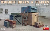 ミニアート1/35 ビルディング&アクセサリー シリーズ木箱と木枠