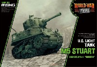 MENG-MODELWORLD WAR TOONSアメリカ 軽戦車 M5 スチュアート