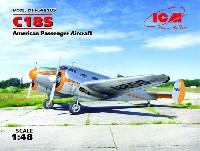 ICM1/48 エアクラフト プラモデルビーチクラフト C18S 軽旅客機