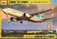 ズベズダ1/144 エアモデルボーイング 737-8 MAX
