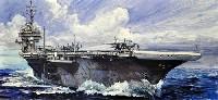 フジミ1/700 シーウェイモデルCV-63 キティホーク 特別仕様 (金属部品/真鍮製救命艇/CVW-5 65機付き)