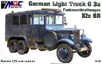 ドイツ 1.5tトラック G3a Kfz.68 無線通信用アンテナ搭載車