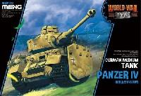 MENG-MODELWORLD WAR TOONSドイツ 中戦車 4号戦車