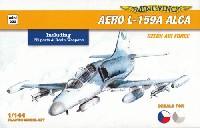 ミニウイング1/144 インジェクションキットアエロ L-159A ALCA チェコ空軍 ハイテックキット