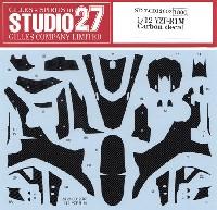 スタジオ27バイク カーボンデカールヤマハ YZF-R1M カーボンデカール