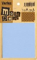 モールドデカール TypeA 縞鋼板 L