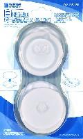 白い塗料皿 ベーシックタイプ (8枚入)
