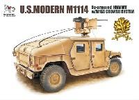 ティーモデル1/72 ミリタリー プラモデルM1114 ハンヴィー w/M153 クロウ 2 システム ゴールデンオークリーフセット