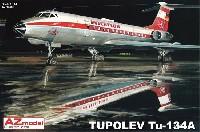 AZ model1/144 Airport (エアライナーなど)ツポレフ Tu-134 インターフルーク