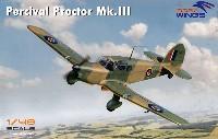 ドラ ウイングス1/48 エアクラフト プラモデルパーシヴァル プロクター Mk.3