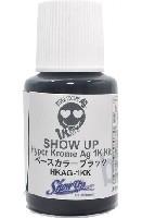 Show UPハイパークロームハイパークローム Ag 1K ベースカラーブラック マイクロボトル