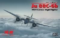 ICM1/48 エアクラフト プラモデルユンカース Ju88C-6b 夜間戦闘機