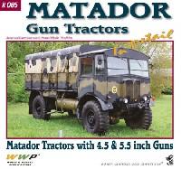 マタドール トラクター w/4.5インチ & 5.5インチ砲 イン ディテール