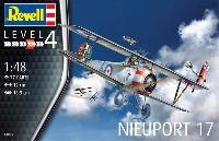レベル1/48 飛行機モデルニューポール 17