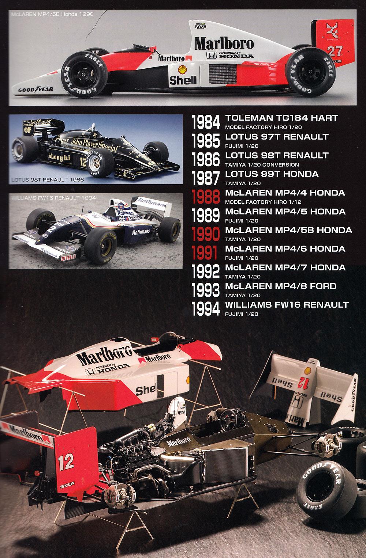 オートモデリング Vol.34 Man & Machine 音速の貴公子 アイルトンセナの歴代F1マシン本(モデルアートAUTO MODELINGNo.Vol.034)商品画像_1