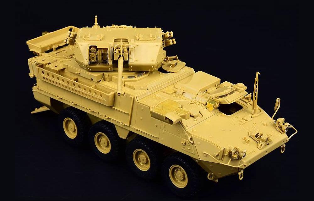 M1296 ストライカー ドラグーン 歩兵戦闘車プラモデル(パンダホビー1/35 CLASSICAL SCALE SERIESNo.PH35045)商品画像_2