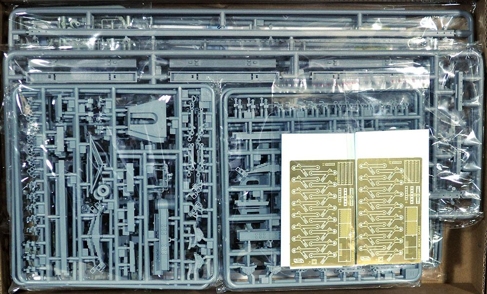 ドイツ Ommr 平貨車 2 in 1 w/線路 2キット入り スペシャルパックプラモデル(サーベルモデル1/35 ミリタリーNo.35A003-SVP)商品画像_1