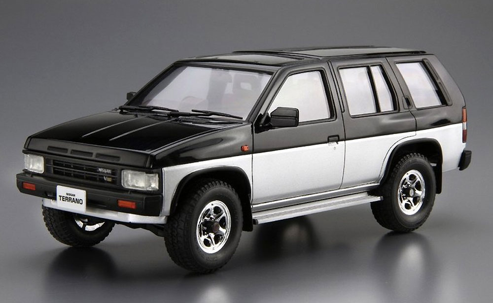 ニッサン D21 テラノ V6-3000 R3M '91プラモデル(アオシマ1/24 ザ・モデルカーNo.106)商品画像_2