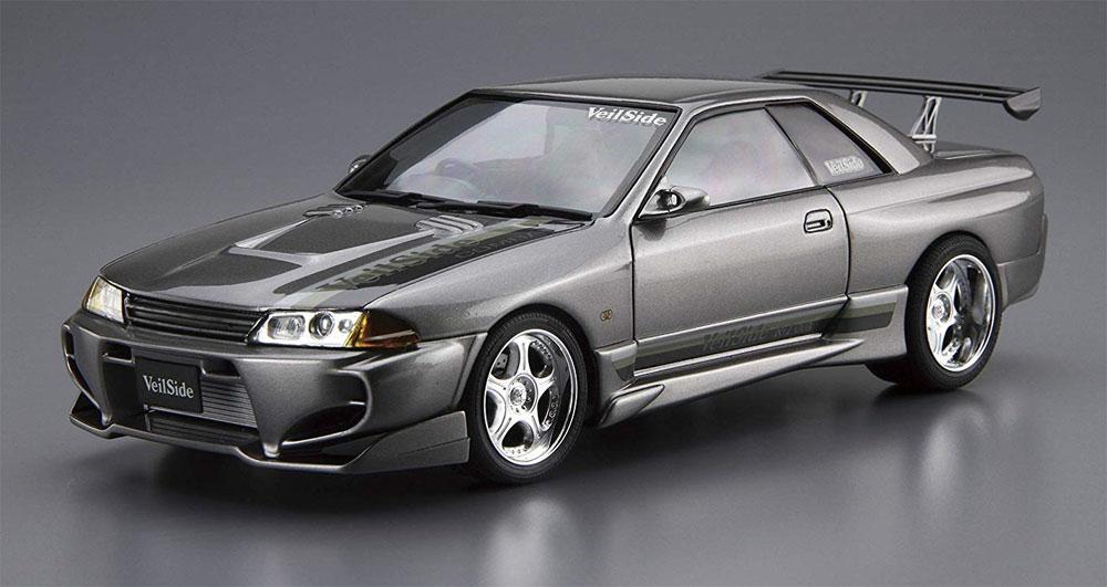 VeilSide コンバットモデル BNR32 スカイライン GT-R '90 (ニッサン)プラモデル(アオシマ1/24 ザ・チューンドカーNo.060)商品画像_2