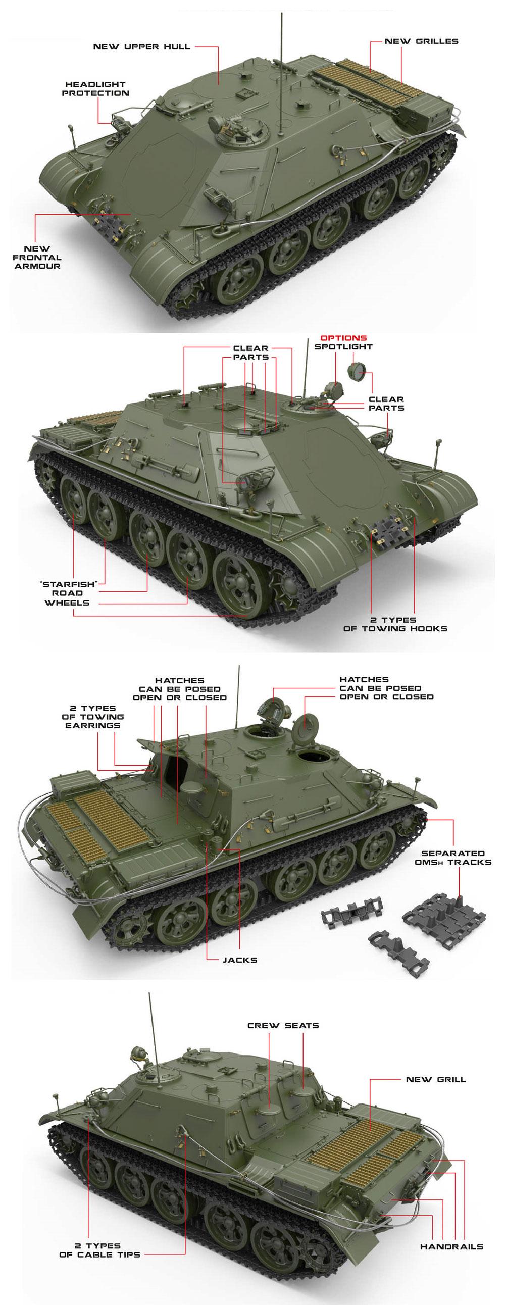 TOP 戦車回収車プラモデル(ミニアート1/35 ミリタリーミニチュアNo.37038)商品画像_1
