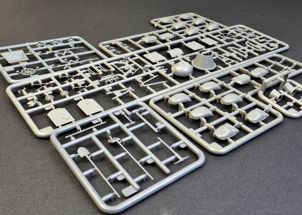 コンクリートミキサーセットプラモデル(ミニアート1/35 ビルディング&アクセサリー シリーズNo.35593)商品画像_1