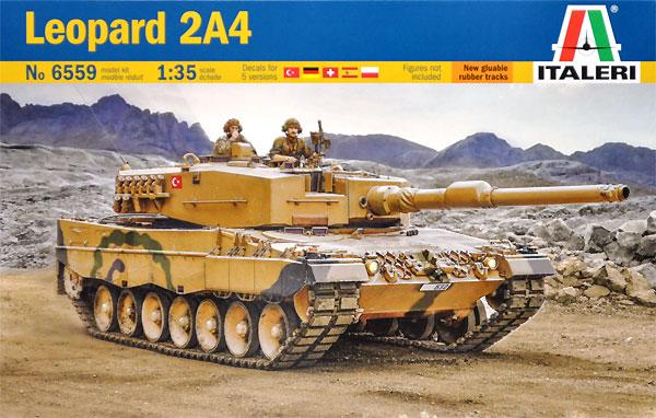 レオパルト 2A4プラモデル(イタレリ1/35 ミリタリーシリーズNo.6559)商品画像