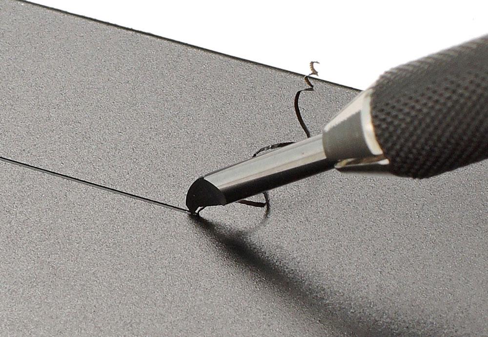 スジ彫り超硬ブレード 0.4mm超硬ブレード(タミヤタミヤ クラフトツールNo.147)商品画像_4