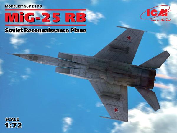 MiG-25 RBプラモデル(ICM1/72 エアクラフト プラモデルNo.72173)商品画像