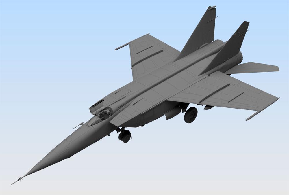 MiG-25 RBプラモデル(ICM1/72 エアクラフト プラモデルNo.72173)商品画像_2