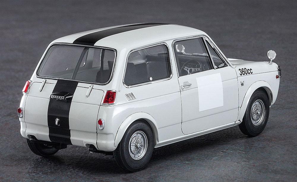 ホンダ N360 (N1) レース仕様プラモデル(ハセガワ1/24 自動車 限定生産No.20392)商品画像_3
