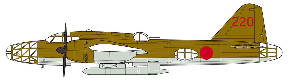三菱 キ67 四式重爆撃機 飛龍 イ号一型甲 誘導弾搭載機プラモデル(ハセガワ1/72 飛行機 限定生産No.02298)商品画像_2