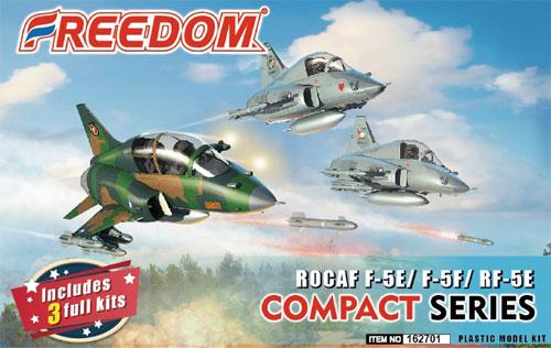 ROCAF F-5E/F-5F/RF-5Eプラモデル(フリーダムモデルコンパクトシリーズNo.162701)商品画像