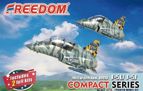 ROCAF F-5E/F-5F 第7戦闘訓練航空隊 40周年記念プラモデル(フリーダムモデルコンパクトシリーズNo.162706)商品画像