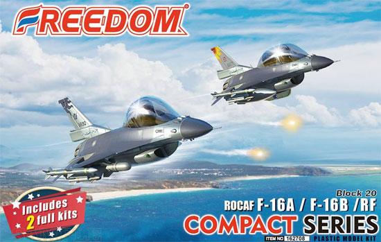 ROCAF F-16A/F-16B/RF ブロック20プラモデル(フリーダムモデルコンパクトシリーズNo.162708)商品画像