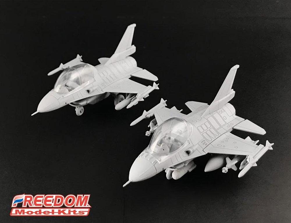 ROCAF F-16A/F-16B/RF ブロック20プラモデル(フリーダムモデルコンパクトシリーズNo.162708)商品画像_2