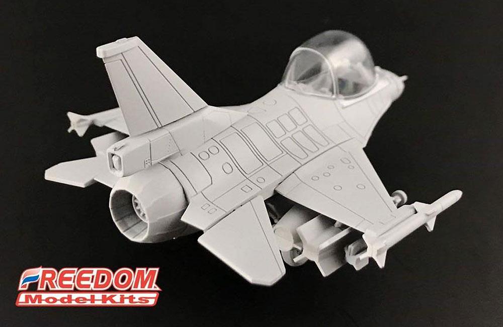 ROCAF F-16A/F-16B/RF ブロック20プラモデル(フリーダムモデルコンパクトシリーズNo.162708)商品画像_4