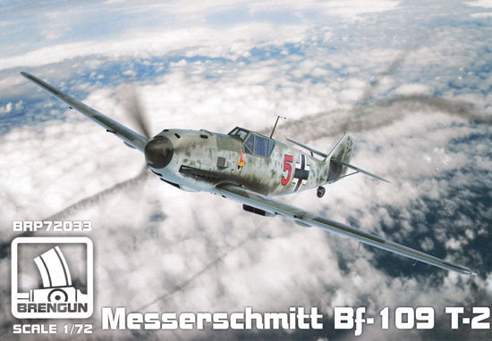 メッサーシュミット Bf109T-2プラモデル(ブレンガン1/72 Plastic kitsNo.BRP72033)商品画像