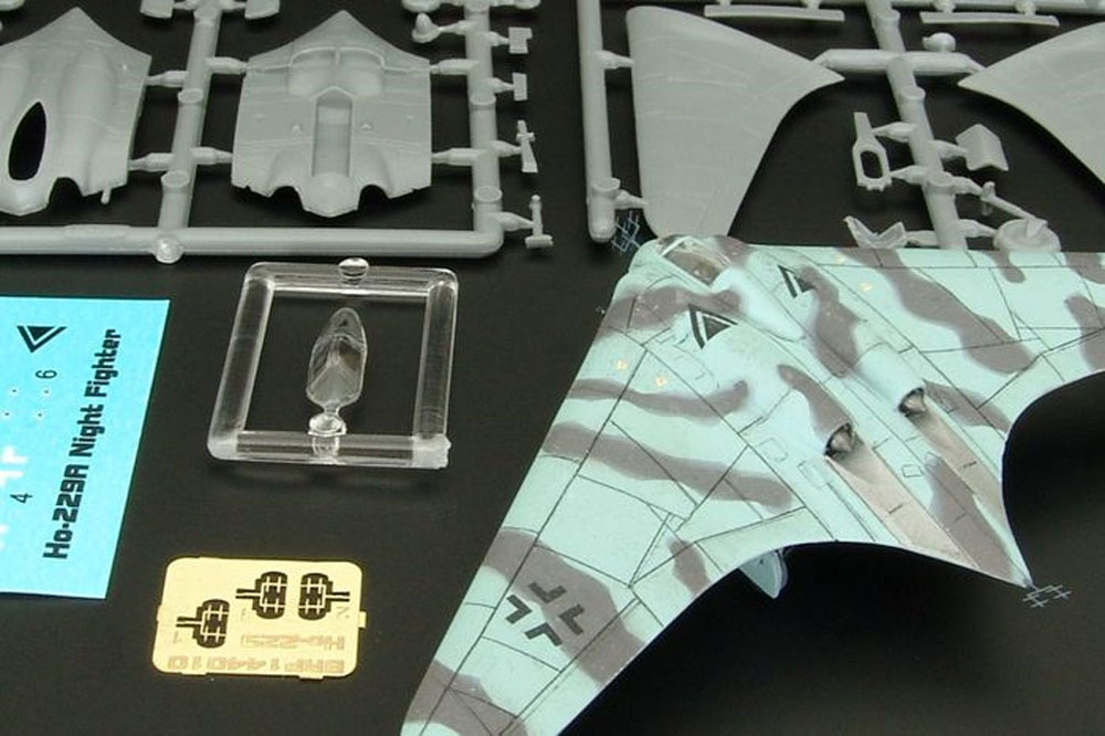 Ho-229A 夜間戦闘機プラモデル(ブレンガン1/144 Plastic kits (プラスチックキット)No.BRS144010)商品画像_1
