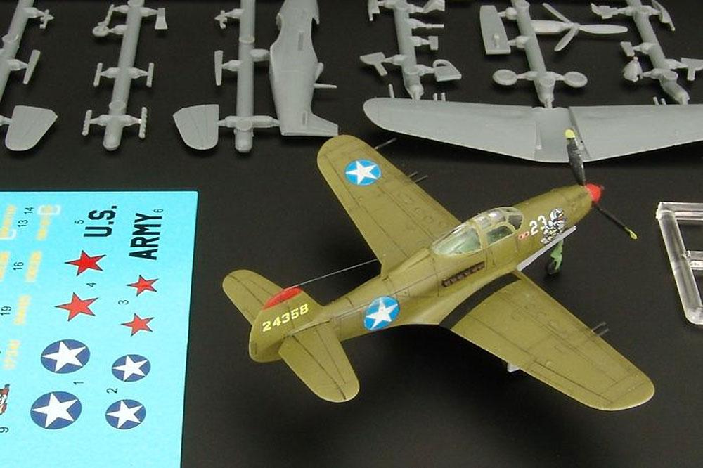 P-39D/F/K エアラコブラプラモデル(ブレンガン1/144 Plastic kits (プラスチックキット)No.BRS144011)商品画像_1
