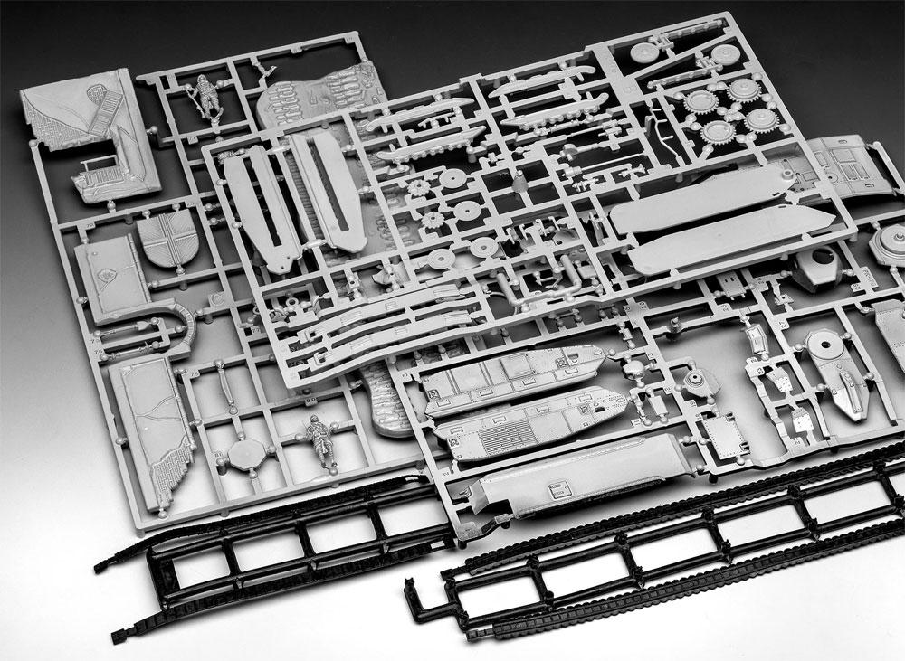 シャール B.1bis + ルノー FT.17プラモデル(レベル1/76 ミリタリーNo.03278)商品画像_1