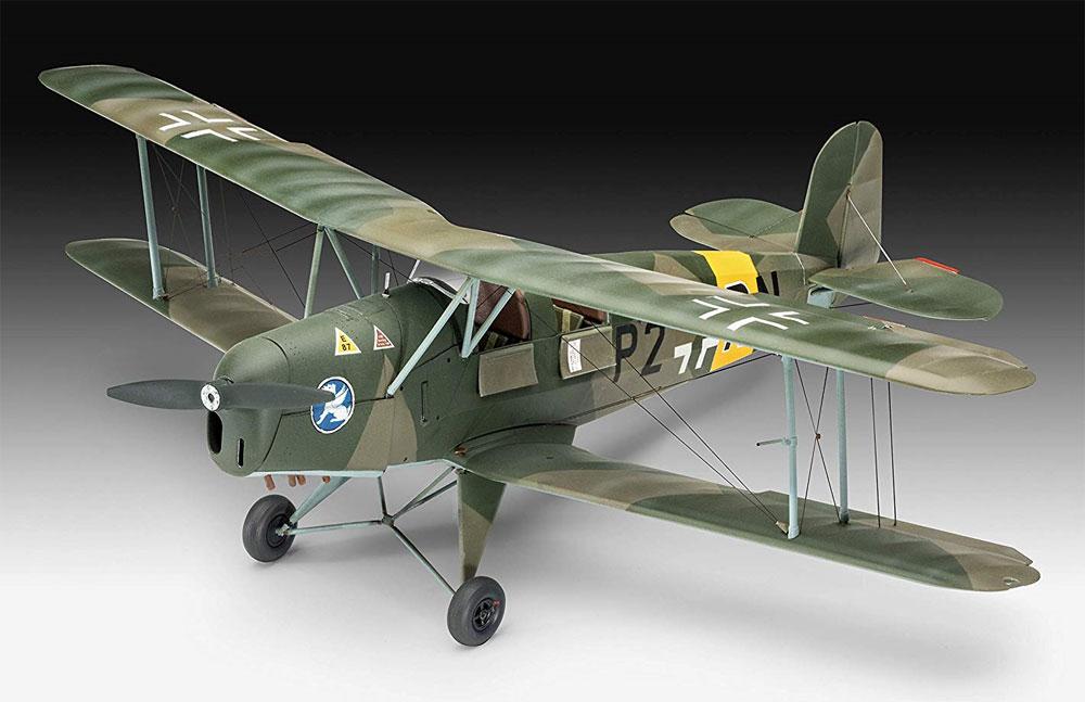 ビュッカー Bu131D ユングマンプラモデル(レベル1/32 AircraftNo.03886)商品画像_1