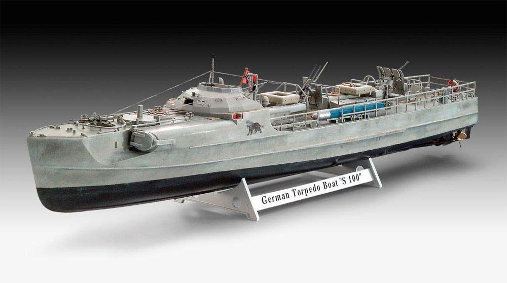 ドイツ 魚雷艇 S-100プラモデル(レベル1/72 艦船モデルNo.05162)商品画像_1