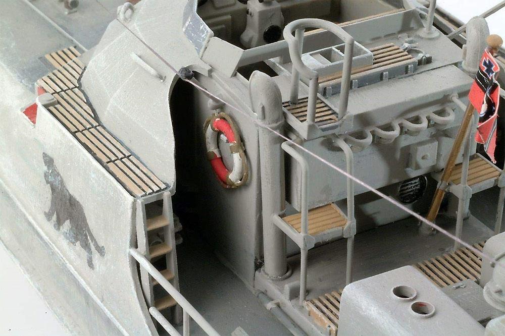 ドイツ 魚雷艇 S-100プラモデル(レベル1/72 艦船モデルNo.05162)商品画像_3