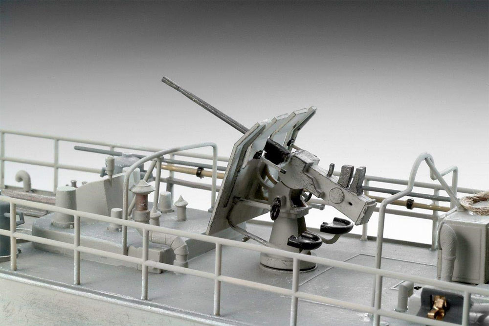 ドイツ 魚雷艇 S-100プラモデル(レベル1/72 艦船モデルNo.05162)商品画像_4