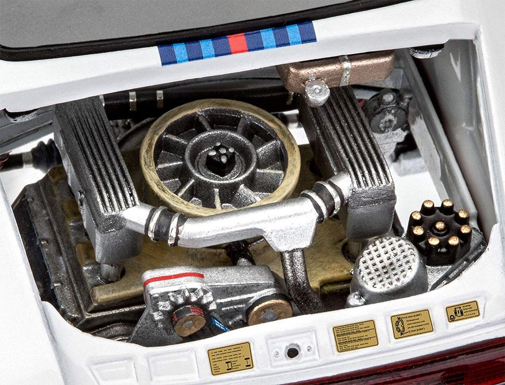 ポルシェ 934 RSR マルティニプラモデル(レベルカーモデルNo.07685)商品画像_4