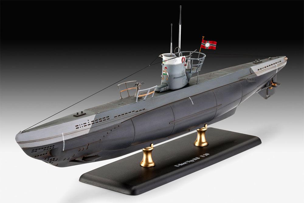 ドイツ 潜水艦 Type2B 1943プラモデル(レベル1/144 艦船モデルNo.05155)商品画像_2