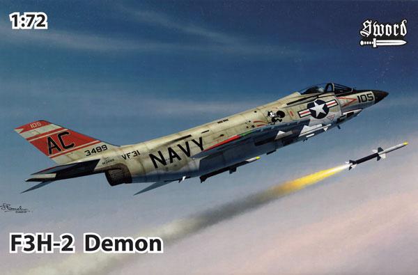 F3H-2 デーモンプラモデル(ソード1/72 エアクラフト プラモデルNo.72122)商品画像