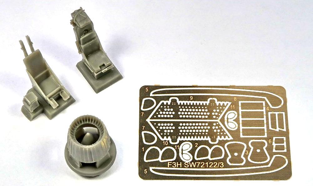 F3H-2 デーモンプラモデル(ソード1/72 エアクラフト プラモデルNo.72122)商品画像_2